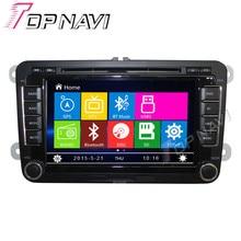 """WANUSUAL 7 """"coche DVD GPS Para VW Universal (versión baja) Car Multimedia Radio Audio Estéreo En El Tablero, Sistema de la Mueca de Dolor"""