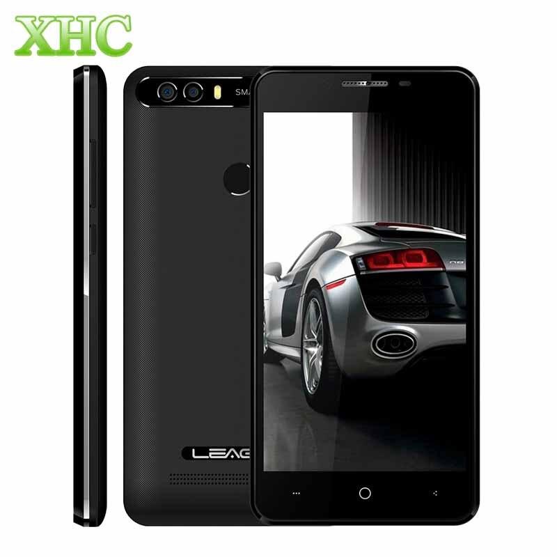 bilder für Neueste LEAGOO KIICAA POWER Smartphone 2 GB/16 GB Dual Rückseite Kameras Fingerabdruck 5,0 ''Android 7.0 MTK6580A Quad Core 3G Handy