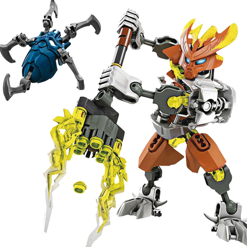 NEW-6-Stules-BIONICLE-Series-Jungle-Rock-Water-Earth-Ice-Fire-Protector-Action-figure-Building-Block (4)