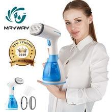 Vaporizador de ropa para el hogar, máquina de vapor Vertical con cepillos de vapor, planchado de ropa, vaporera Facial casera