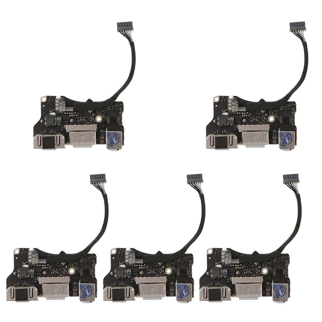 цена на 5x I/O Audio Board USB Power Jack DC-in for 2013y 13'' MacBook Air A1466