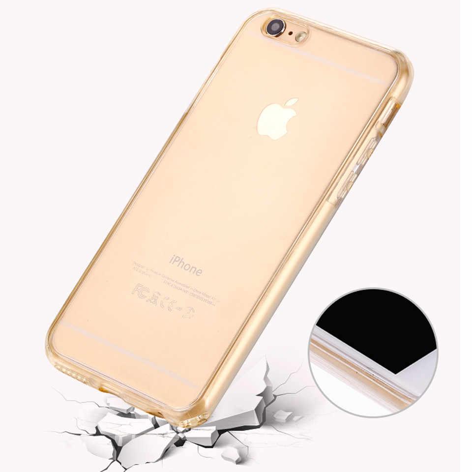 360 Полный силиконовый прозрачный чехол для iPhone 7 Plus SE 5S 6 6s 8 X XR XS MAX huawei P30 Pro P20 Lite P10 Коврики 20X10 крышка телефона Чехлы