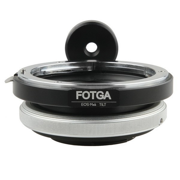 FOTGA Tilt Adapter Ring for Canon EOS Mount lens to Micro Four Thirds M4/3 Camera объектив sigma af 19 mm f 2 8 dn art for micro four thirds black