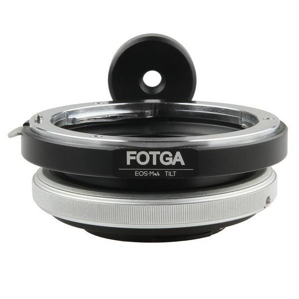 FOTGA Tilt Adapter Ring for Canon EOS Mount lens to Micro Four Thirds M4/3 Camera недорго, оригинальная цена