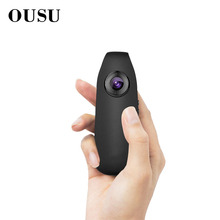 OUSU 1080P mini Security Camera Body Outdoor Sport Action Video Surveillance Micro Voice Recorder Audio Hidden Spy Pen