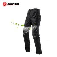 SCOYCO Motorcycle Pants Men's Breathable Moto Pants Motocross Pants Motorcycle Trousers Protective Trousers Pantalon Moto