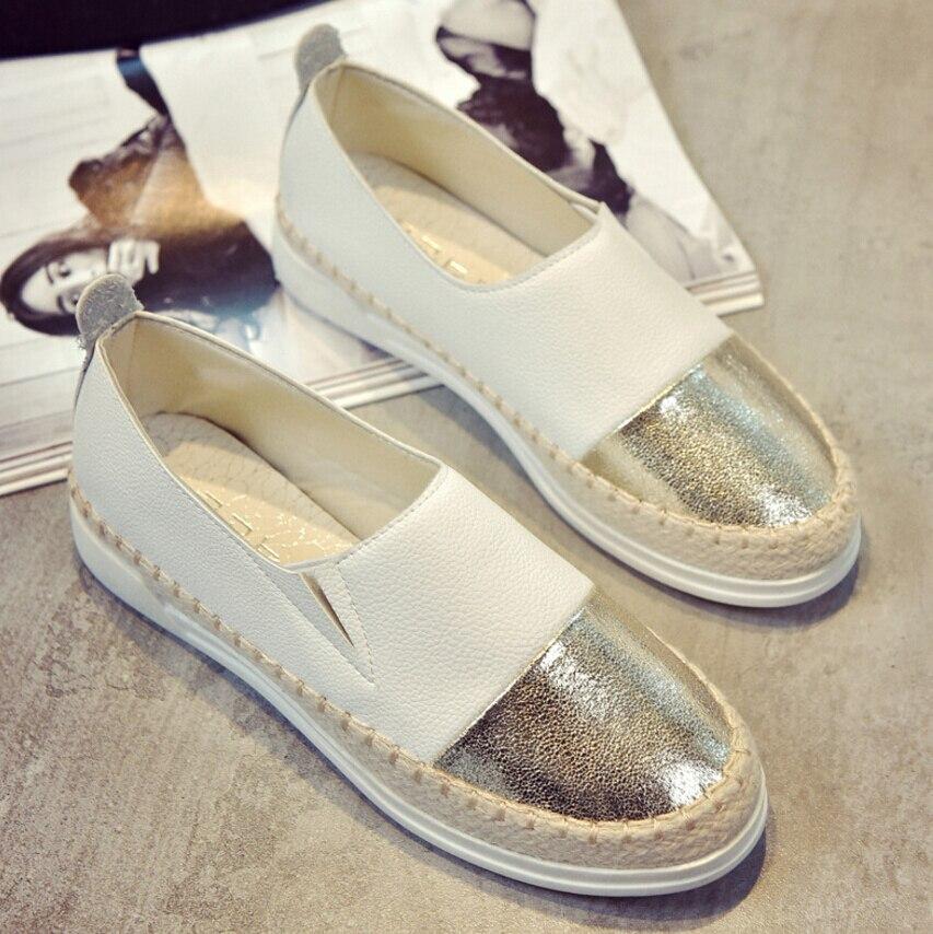 Frauen Espadrilles Wohnungen Schuhe Mix Farbe Creepers Slip Auf Frauen Müßiggänger Damen Schuhe Glitter Schuhe Frauen Buy One Give One
