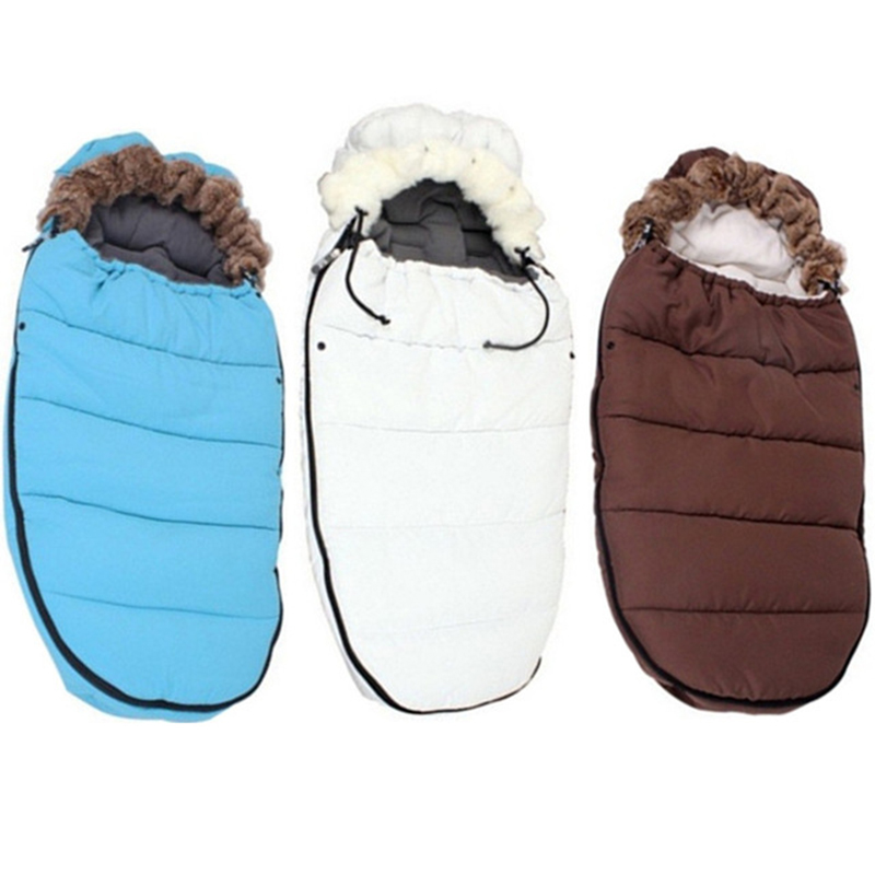 Hot Sale 2018 New Baby Sleeping Bag Windproof Baby Stroller Bag Bunting 0-36M Baby Stroller Accessories Sleeping Sack