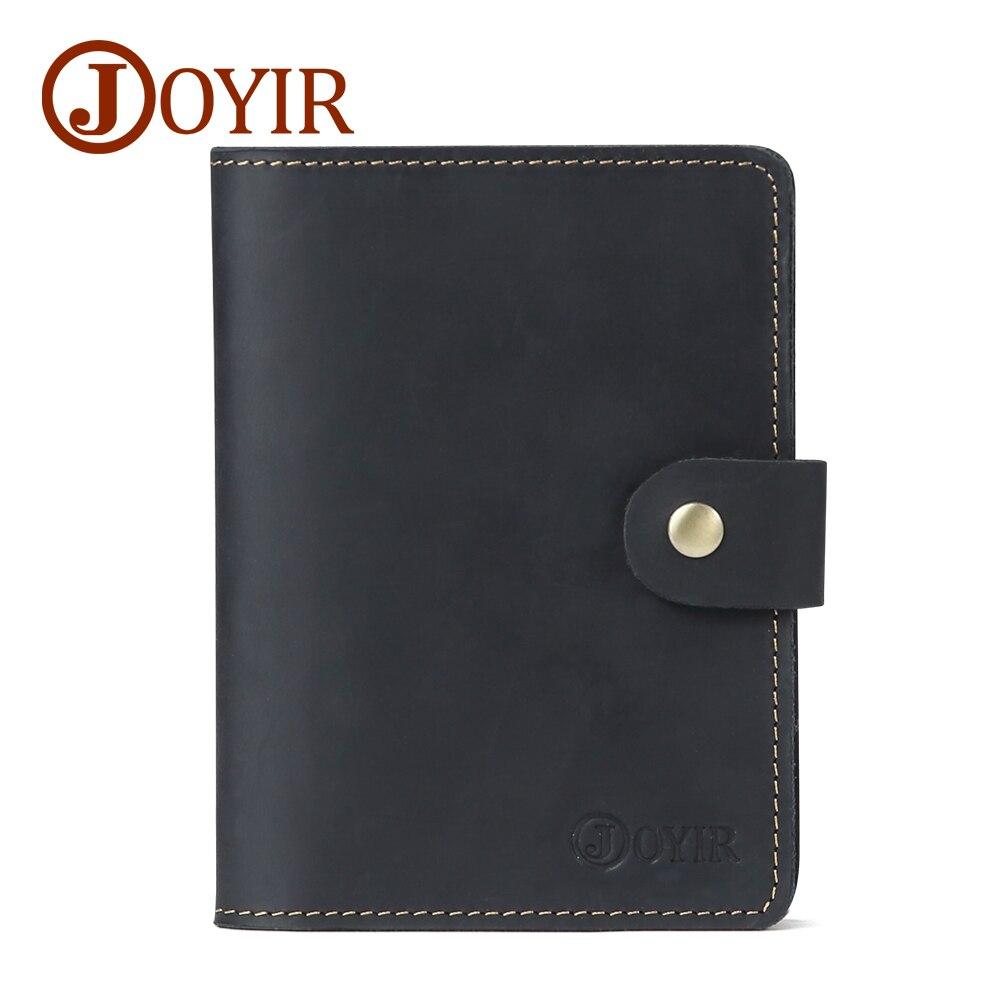 JOYIR New Genuine Leather Travel Passport Plånbok RFID Cover ID - Plånböcker - Foto 2