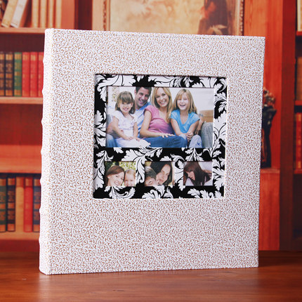 600 Pockets Leather Photo Album Book Good Quality 6 Inch 4x6 Photos