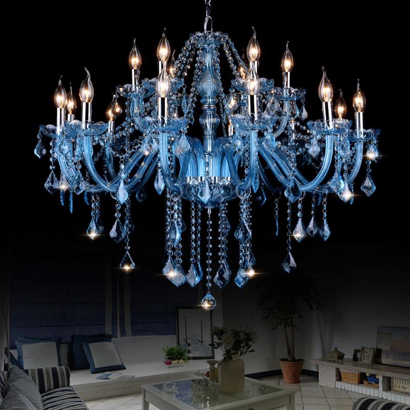 Large Crystal chandelier lighting Indoor home lighting lustres para quarto avize for Bedroom Kitchen Dining room Chandelier