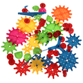 81 pcs plástico blocos de construção de brinquedos das crianças crianças diy criativo educacional toy engrenagem blocos brinquedos para crianças
