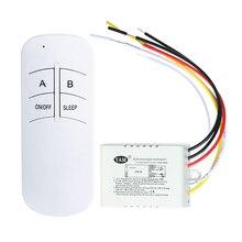 ВКЛ/ВЫКЛ 220V светильник цифровой беспроводной настенный пульт дистанционного управления приемник передатчик