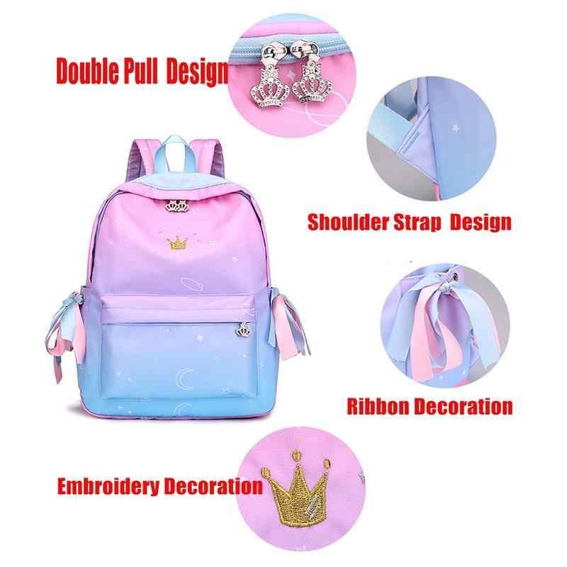 Orthopedische Rugzakken School Kinderen Schooltassen Voor Meisjes Basisschool Boek Tas Schooltassen Afdrukken Rugzak