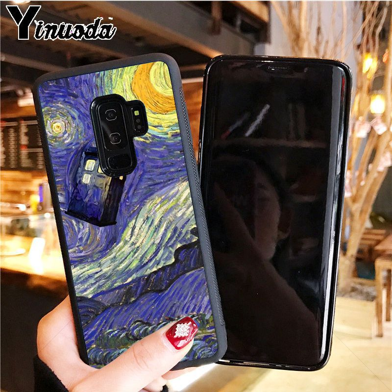 Tardis Box Doctor Whos Phone Case Cover For Samsung Galaxy S8 S9 Plus Note 8 9 S7 Edge Soft Tpu Cases Buy One Give One Half-wrapped Case Phone Bags & Cases