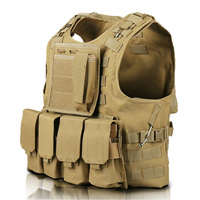 Military Tactical Vest Molle Combat Airsoft Assault Tactical Vest Outdoor Clothing Hunting Camouflage Vest Equipment Waistcoat