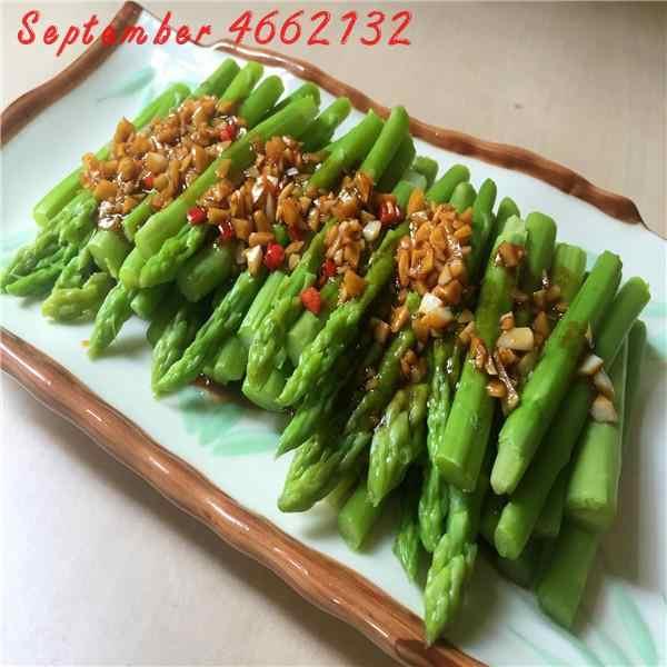 50 pcs espargos pressur arterial, Vegetais e frutas Samambaia Espargos Bambu Pequeno Bonsai Setose Espargos Plantas