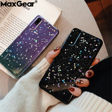 Clear Silicone Glitter Star Case For Huawei
