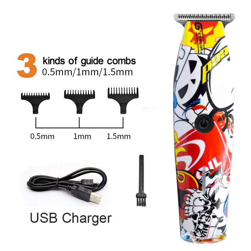 Professional Hair Clippers For Men Trimmer USB Rechargeable Electric Hair Cutting Men's Cordless Haircut Barber Machine Cutter