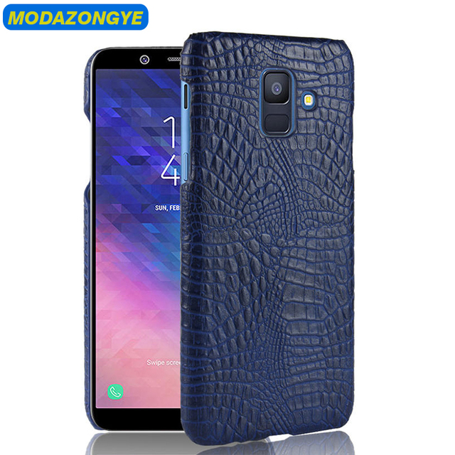 premium selection 81a16 b6a95 US $3.19 20% OFF|For Samsung Galaxy A6 Plus 2018 Case 6.0 PU Leather Back  Cover Phone Case For Samsung Galaxy A6 Plus 2018 A6plus A6+ A 6 Plus-in ...