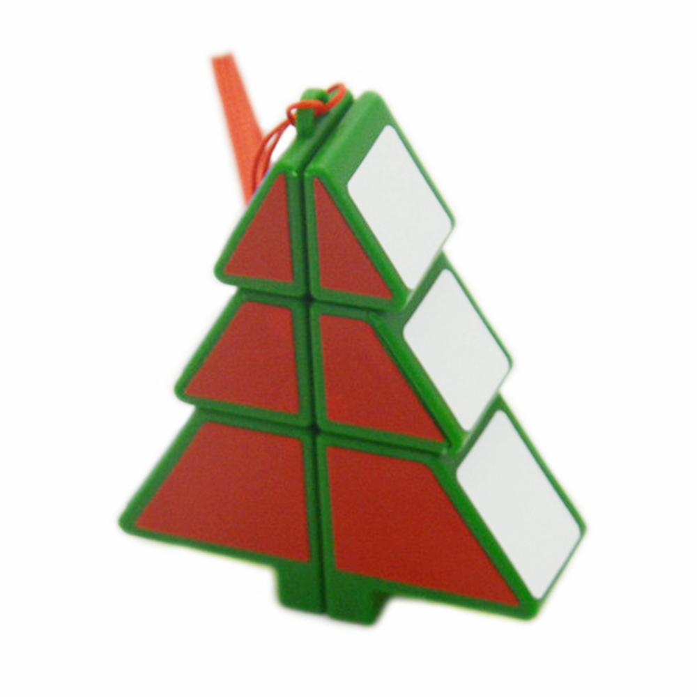 Babelemi Christmas Tree Cube 1x2x3 Magic Cube Speed Puzzle Cubes Children Kids Educational Toys