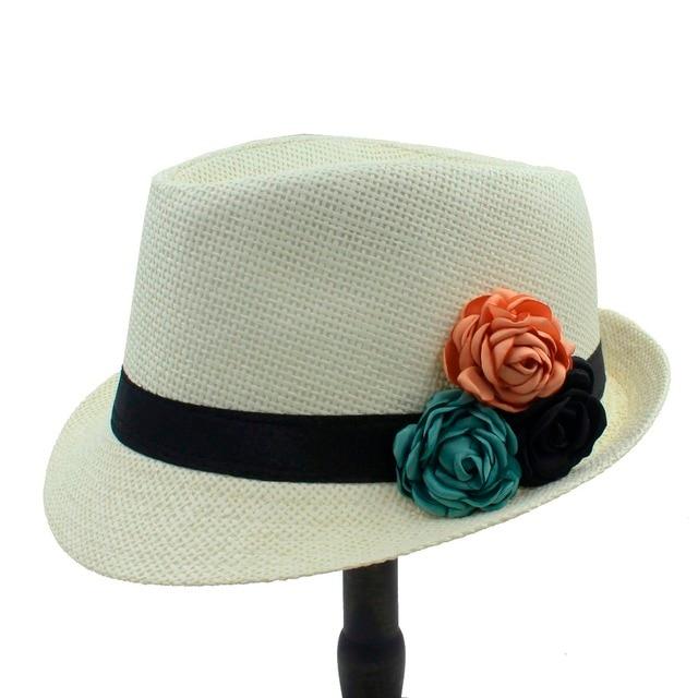 Moda Palha Toquilla Mulheres Velejador chapéu de Sol de Praia Para Senhora  Elegante Verão Chapéu Panamá 6bf33a9c446