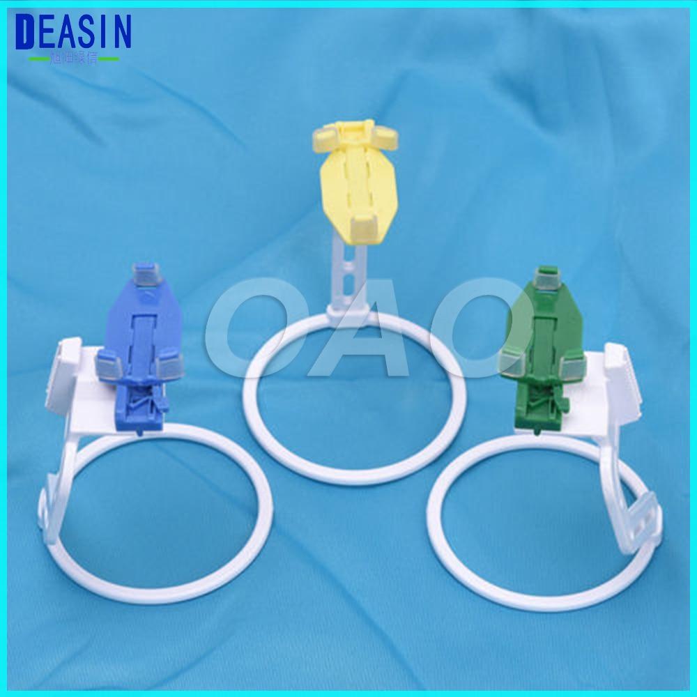 NEW 3Pcs/Set Dental Digital X Ray Film Sensor Positioner Holder Dental Instrument With Box