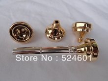 Factory direct JK model of multi-function four mouth surface gold-plated Brass Instrument BB Trumpet