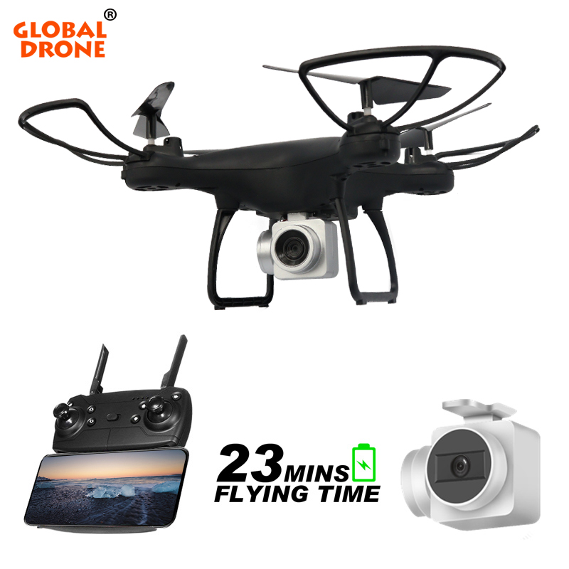 Global Drone GW26 4CH 6 Axis Gyro Long Time Flying Altitude Hold Profissional Wifi FPV Drones