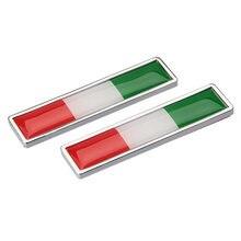 Внешняя наклейка для автомобиля Эмблема итальянского флага bmw