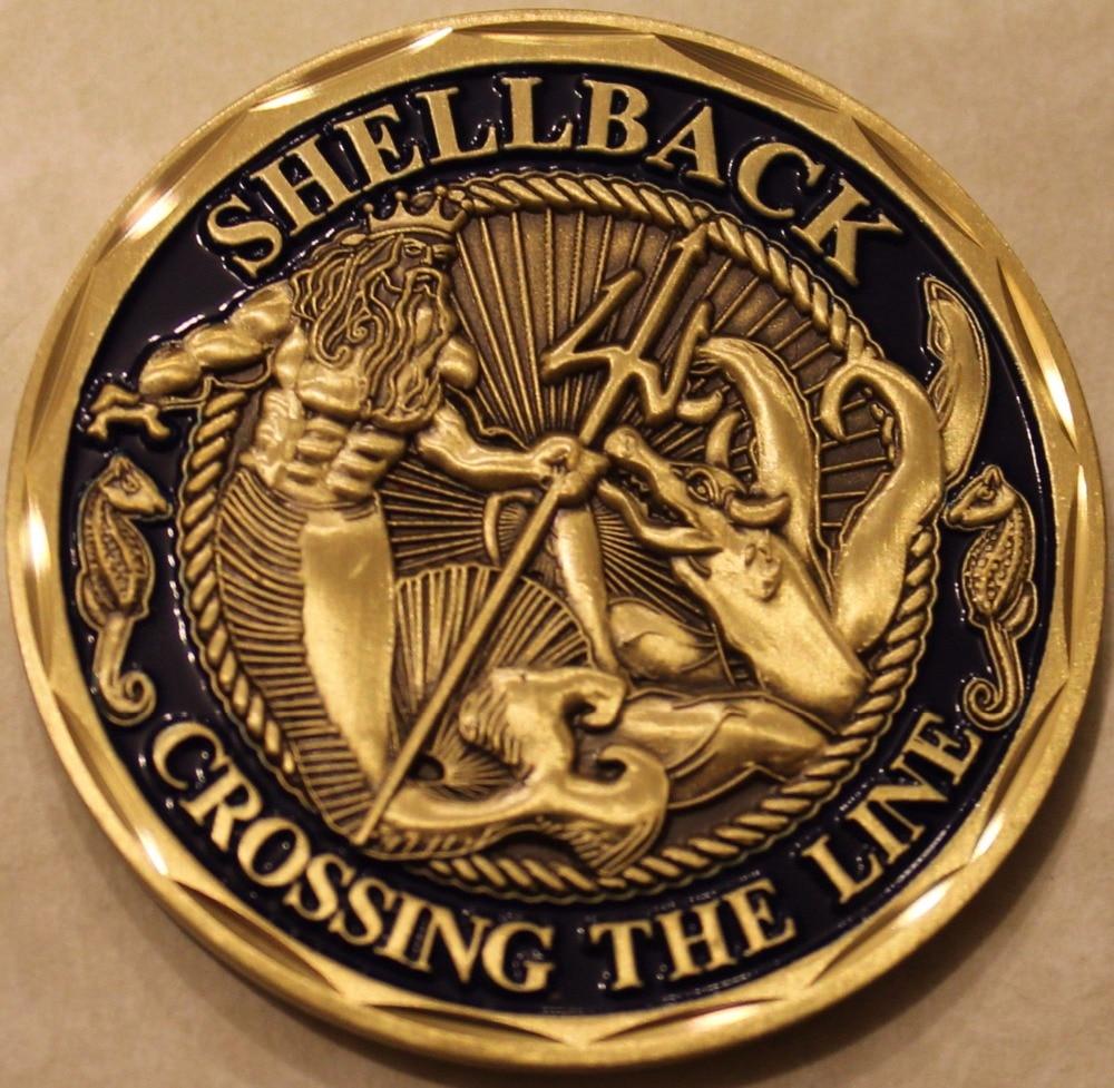 U.S. Navy Challenge Coin,Shellback Navy Marine Corps
