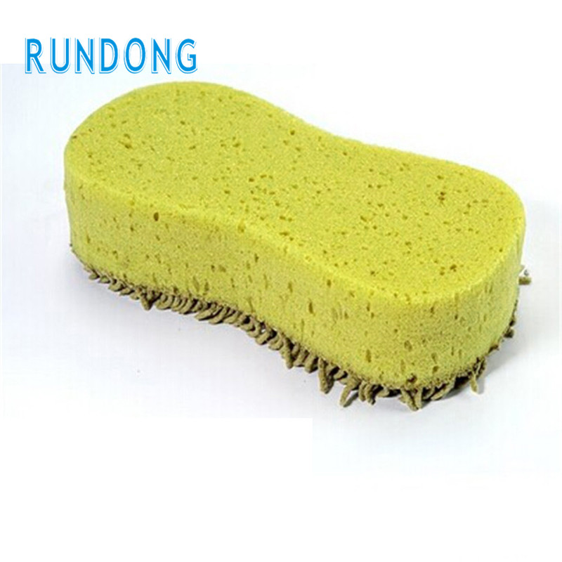 Car Practical Cleaning Washing Cleaner Coral Microfiber Sponge Brush For Auto Car cleaning sponge drop shipping jun6