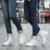 Amantes del invierno Más Tamaño Zapatos de Los Hombres de Cuero Genuino Botines de Moda Keep Warm Martin Botas Con la Piel