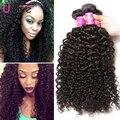 Indian Curly Virgin Hair 7A Jerry Kinky Curly Virgin Hair Indian Virgin Hair Tight Curly Weave 3PC Cheap Human Hair 100g Bundles