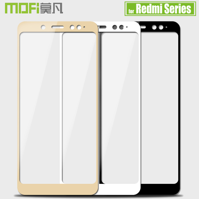 Xiaomi Redmi Hinweis 6 5 4X4 Pro 6A 6 5A 5 Plus Screen Protector Mofi 2.5D Volle Abdeckung gehärtetem Glas Film für Redmi 6A 5A 4X S2