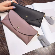 New high Quality Fashion Brand Leather Women Wallets Long Thin ladies coin Purse Cards Holder Clutch bag magic Wallet female free shipping new fashion brand hot sale women s long wallet ladies purse female cards holder 100