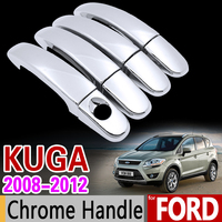 For Ford KUGA 2008 2012 MK1 Luxurious Chrome Handle Cover Trim Set Of 4Door 2009 2010