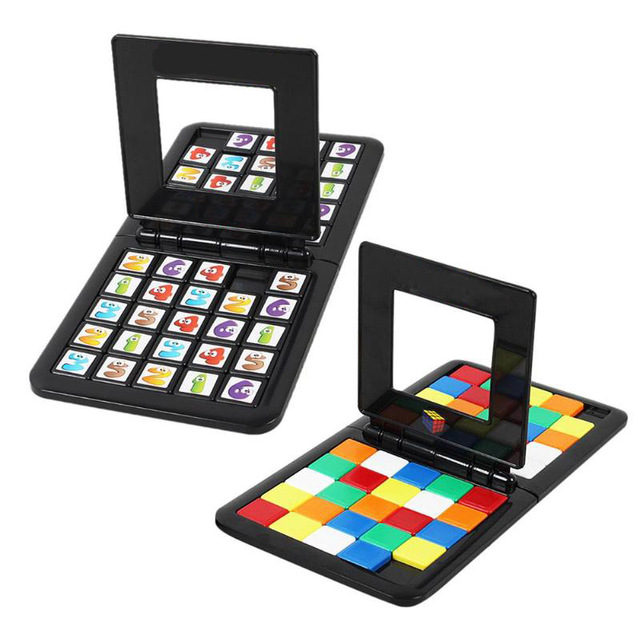 Волшебный куб гоночная игра родитель-ребенок Взаимодействие куб настольная головоломка Смешные Развивающие игрушки для детей взрослых подарок