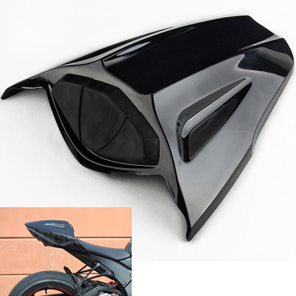 Fast Shipping Black Motorcycle Rear Seat Cowl Fairing Cover For Kawasaki Ninja ZX10R 2011-2012 ZX-10R ZX 10R 11 12