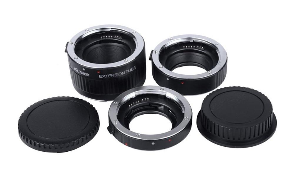 Adaptateur d'objectif Viltrox DG-C Tube d'extension Macro monture métal Auto Focus objectif Macro adaptateur d'objectif de prise de vue Macro pour Canon EOS 750D - 4