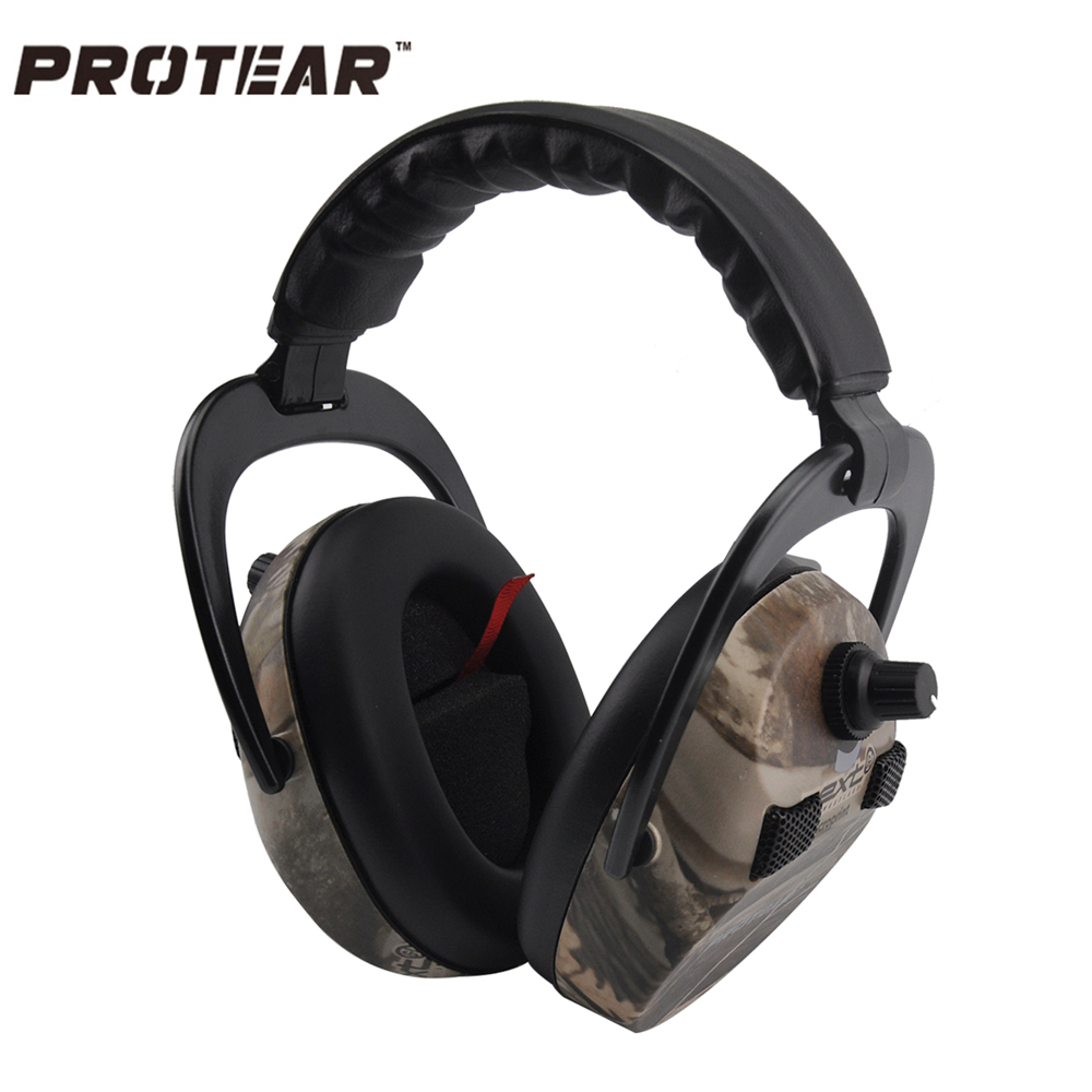 Protear Electronic Ear Protection Shooting Hunting Ear Muff Print Tactical Headset Hearing Ear Protection Ear Muffs