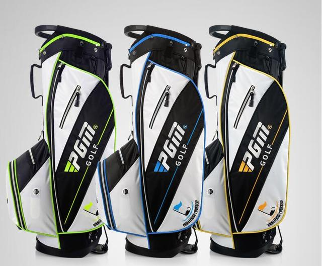 Golf Bags For Sale >> Us 132 99 5 Off Popular Sale Pgm Golf Bags Men Nylon High Hardness Plastic Base Golf Stand Bag 14 Clubs Container Men S Golf Bags In Golf Bags From