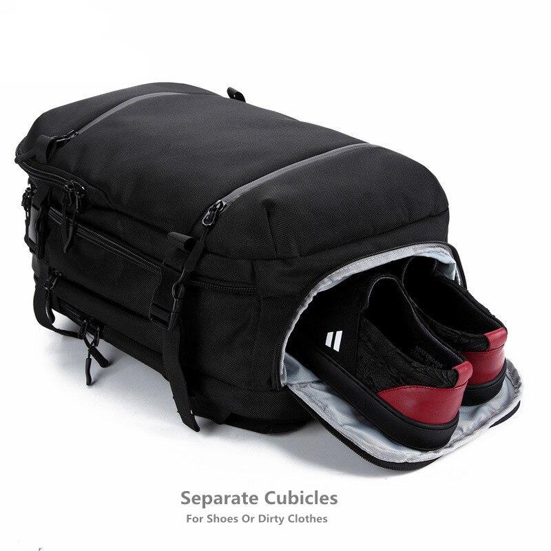OZUKO תרמיל נייד גברים נשים תרמיל 17.3 inch בית ספר תיק גדול קיבולת מטען שקיות תרמיל מזדמן נסיעות חבילת עירוני