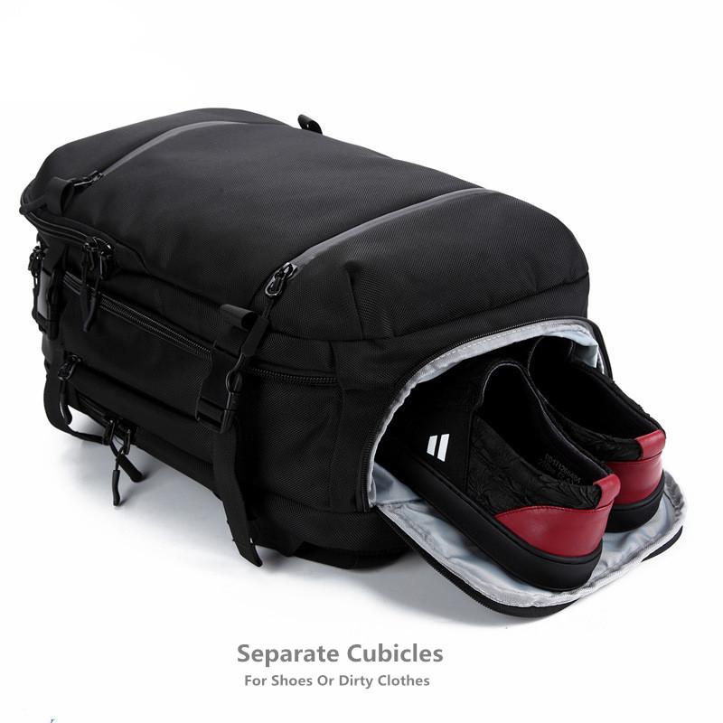 OZUKO Urban Backpack Laptop Men Women Backpack 17.3 Inch School bag Large Capacity Luggage Bags Casual aer Backpack Travel pack zuoxiangru travel pack bag men luggage backpack bag large capacity multifunctional waterproof laptop backpack men for shoes