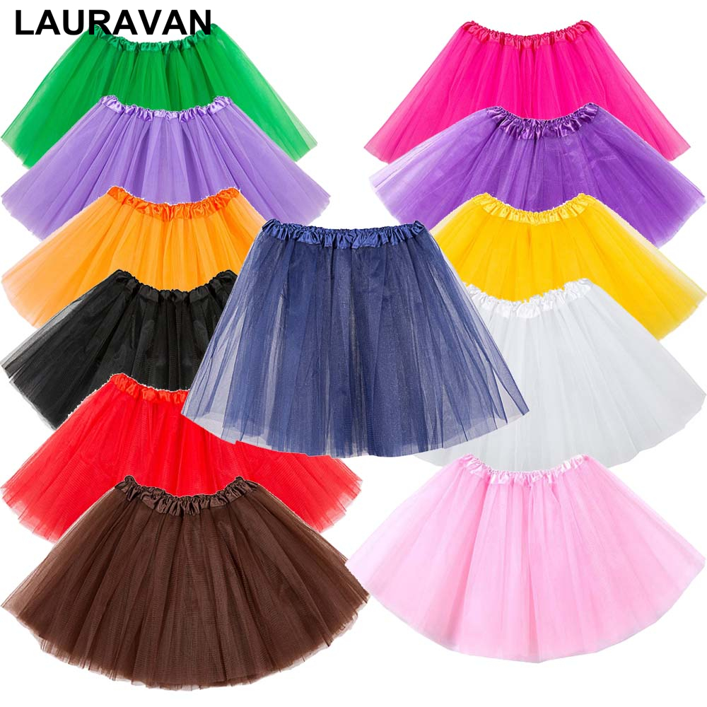 Ballet Transparent Short Skirt Three Layer Tulle Opera Party Performance Skirt Wedding Underskirt Petticoat Rockabilly Tutu