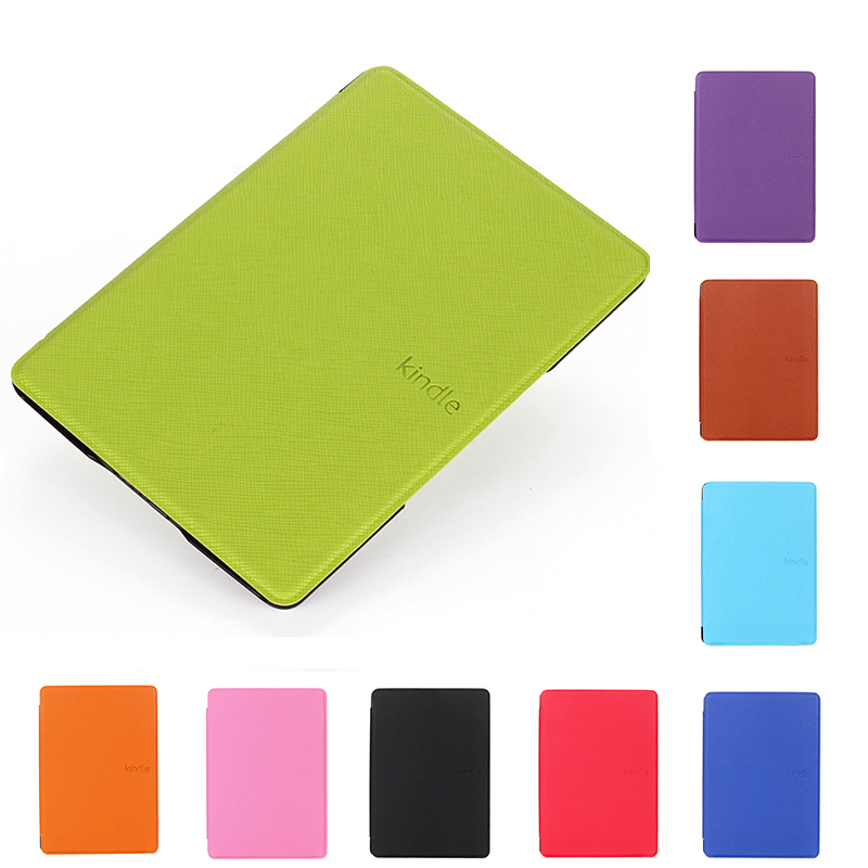 Luxury Protective PU Leather Smart Case For Kindle 4 5 6 inch High Quality Folio Tablet