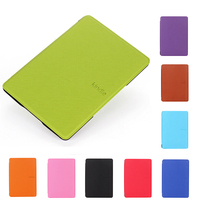Luxury Protective PU Leather Smart Case For Kindle 4 / 5 6 inch High Quality Folio Tablet PC Cover for Kindle 4 / 5 with HD Film