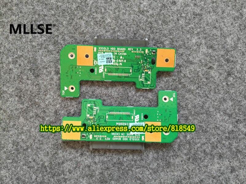 daughter board fit for ASUS X555L X555LD X555LP X555LI K555 R556L R556L X555L X553M Y583LD hard drive X555LD HDD BOARD REV:3.3 front fender rear half for honda gl1800 goldwing 2001 2011 2002 2003 2005 2009