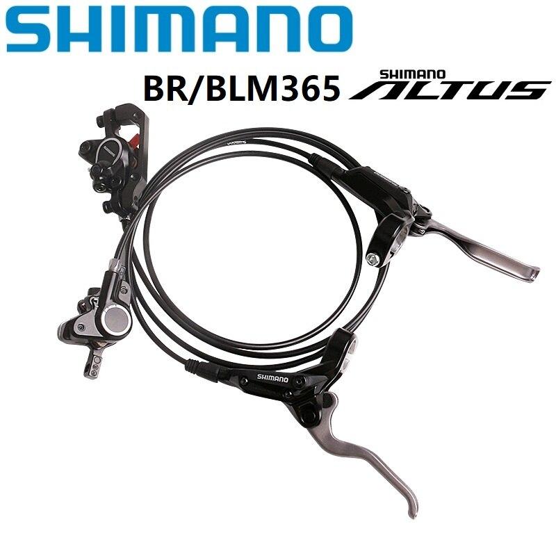 Frein à disque hydraulique de vélo SHIMANO A LTUS BR/BL M365 avant REAAR levier de frein hydraulique et étrier avec plaquettes vtt VTT