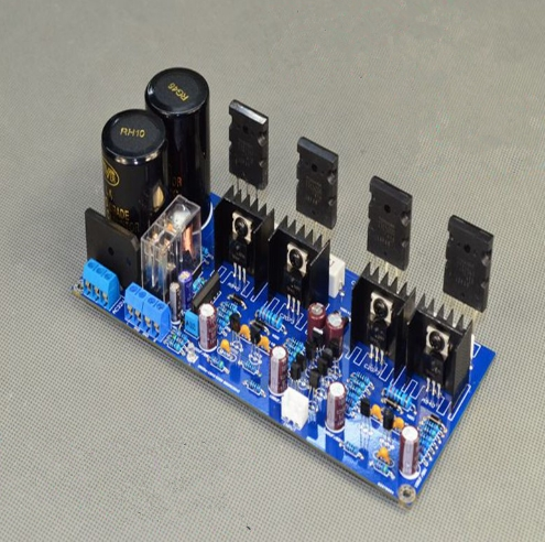 Nice Hs-box V20 Ac30v A1943 Cheapest Price From Our Site C5200 Ab High Power Hifi Fever Amplifier Board 125w + 125w